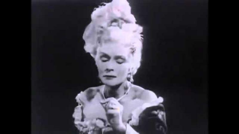 Elisabeth Schwarzkopf canta Porgi Amor de Le Nozze di Figaro. Mozart