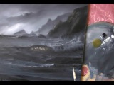 Adding highlights to Foam on a Black and White Seascape by Alan Kingwell