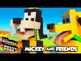Disney Crossy Road | The Animated Series | Goofy and Pluto