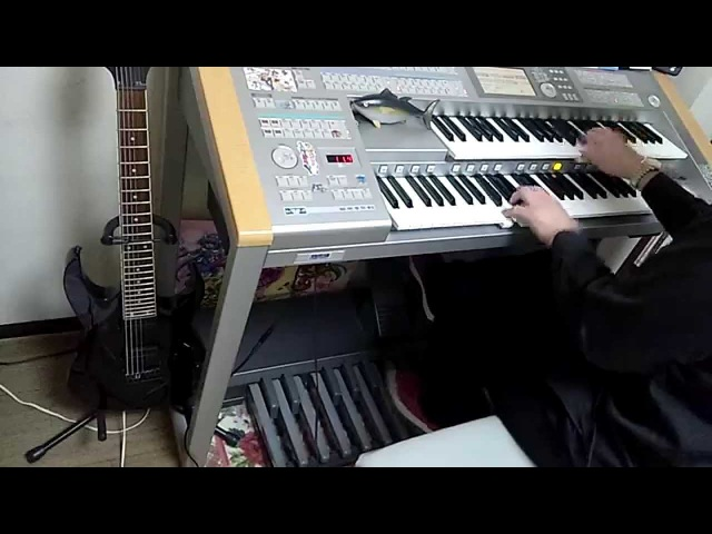 エレクトーンで極黒のブリュンヒルデOPを演奏しました