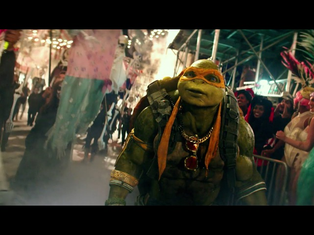 Teenage Mutant Ninja Turtles 2 (2016) - Halloween Parade Clip - Paramount Pictures