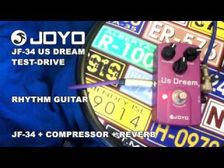 JOYO JF-34 US DREAM - REVIEW & TEST DRIVE