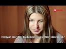 Interview Gina Gerson for Hungarian TV