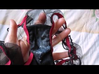 Фетиш - влажные трусики после мастурбации, ношенные 4 дня