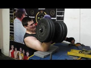армспорт нижнекамск тренировки 29 школа 100 кг гантеля Токарев Диман