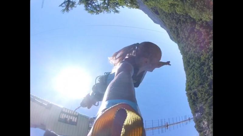 Мой прыжок с BANGY 69 м