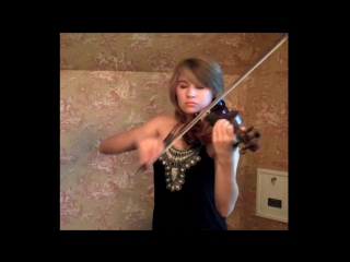 Кавер на скрипке по аниме Блич - Bleach Never Meant to Belong - Violin Cover - Taylor Davis