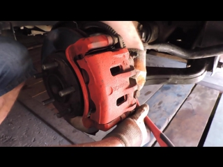 Как снять передний тормозной диск на Кайроне. Диск тормозной передний SsangYong Kyron