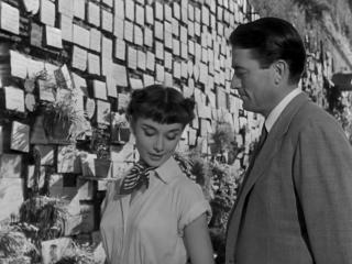 Римские каникулы 1953 Прогулка по достопримечательностям с Одри Хэпбэрн