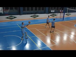 Волейбол. Новогодний кубок 2016. Мужчины. Олимп-1-ПЧ-63.ч.6