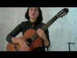 Урок 2 (классическая гитара, аккомпанемент пению)