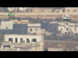 Сирия.20-02-2016.Хан-Туман.Алеппо.Поражение группы бойцов САА из ПТРК Конкурс,боевиками ахрар аш шам
