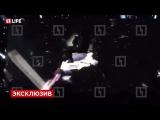 Сергей Лазарев упал с декорации на первой репетиции номера к