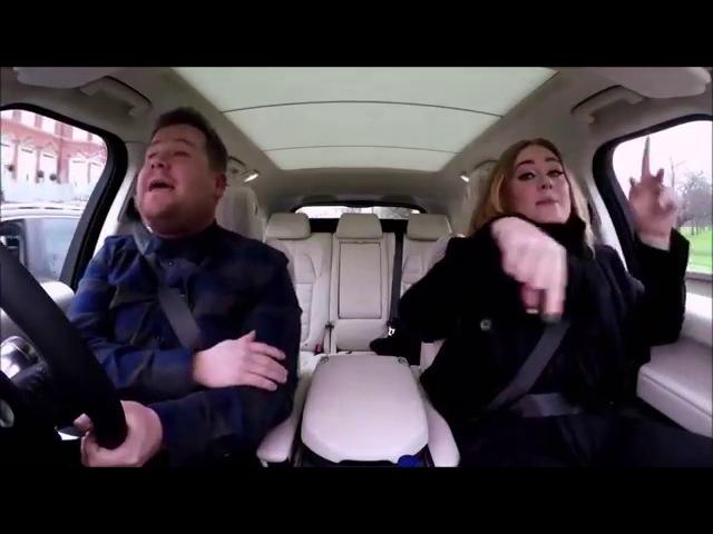 Adele singing wannabe (Spice Girls)
