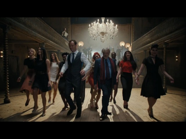 Choreographic Dance JOHNNIE WALKER Blue Label Jude Law Giancarlo Giannini
