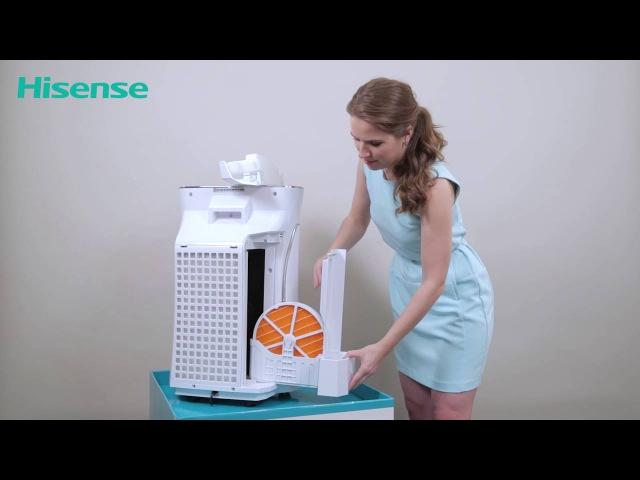 Обзор очистителей воздуха с функцией увлажнения Hisense серии ECOLife