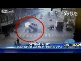 В Китае машину остановил призрак.