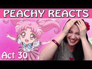 PEACHY REACTS ♥ Sailor Moon Crystal Act 30 (ep 31)