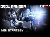 Dota 2: Angel Arena Reborn. New страта Тракса (Drow Ranger), новая тактика фарма и легкий камбек