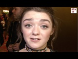 Maisie Williams Interview - Game Of Thrones & Doctor Who 2016