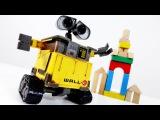 Видео для детей: робот ВАЛЛИ и Конструктор! Мультфильм Валли.