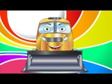 ✔ Cars Cartoons Compilation for children. Bulldozer and Cement Mixer. Episode 103. Funny Cars TV ✔
