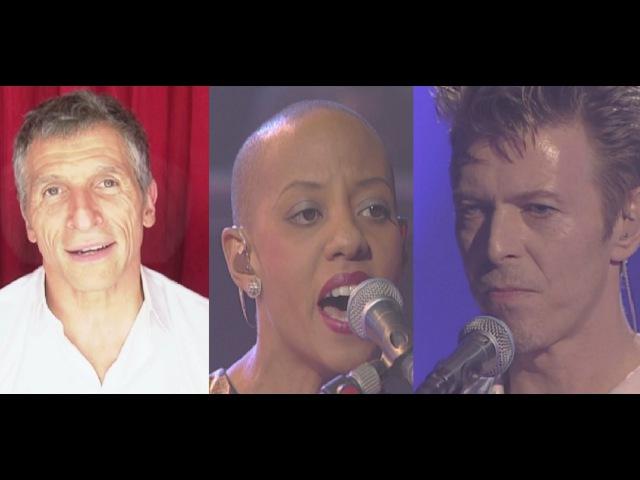 My Taratata - Nagui - David Bowie Gail Ann Dorsey Under Pressure (Live 1995)