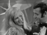 Dalida &amp Petula Clark avec Sacha Distel, Jean Yanne