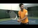 Видео Урок теннис Джокович Теннис Академия все удары