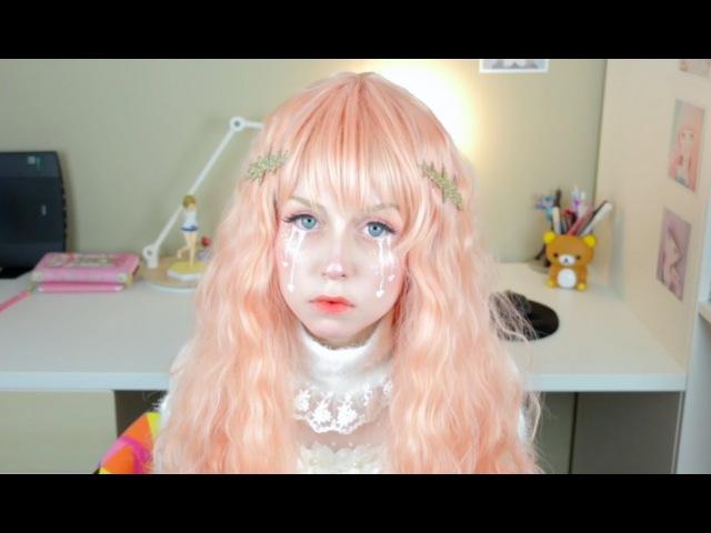 ♡Broken Girl♡Valentines Day Makeup Tutorial♡