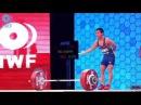Wu Jingbiao 139kg Snatch Om Yun Chol 171kg Clean Jerk World Records