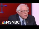 Bernie Sanders Knocks Donald Trump's Scapegoating Strategy | Rachel Maddow | MSNBC