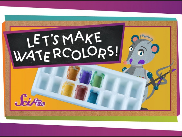Make Your Own Watercolors! sciencegoals