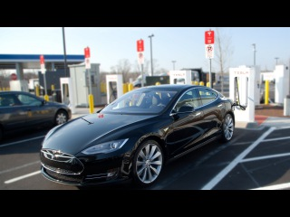 What A Tesla Supercharger Station Is Really Like