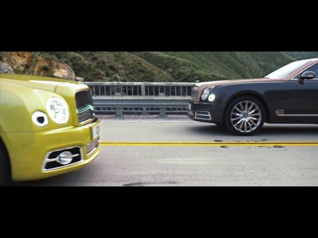 Launch film - The Bridge   Bentley Mulsanne