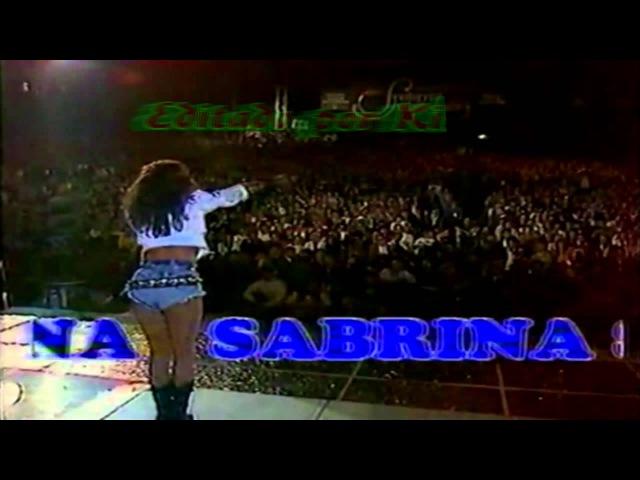 Sabrina Salerno--Boys (Video live S-L Spot 1988) (Audio Ing. Sub. Esp./Ing.)HD