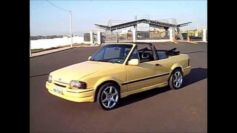 Mostre seu carro em nosso canal. Escort XR3 Conversível 1988.