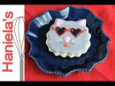 CAT COOKIES FOR VALENTINE'S DAY HANIELA'S