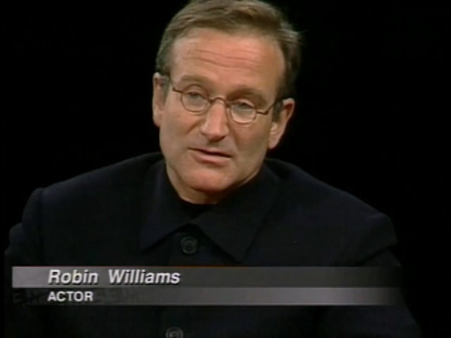 Robin Williams and Matt Damon interview on Good Will Hunting on Charlie Rose (1998)