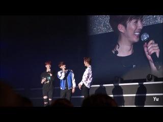 2016.04.02 SS301 UR Man Is Back in Taiwan 行大禮