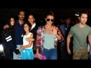 Airport Spotting 19th July 2016 | Jacqueline Fernandez,Varun Dhawan,Arjun Rampal