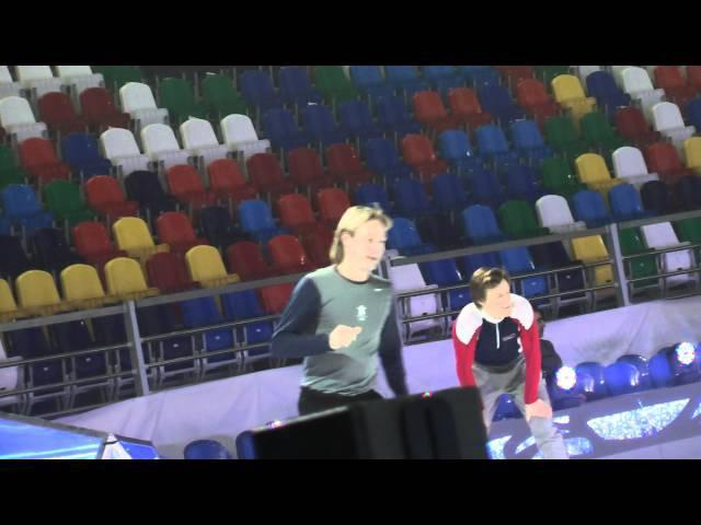 Соревнования перед шоу: Евгений Плющенко .Бриан ЖуберТомаш Вернер. Снежный Король-2