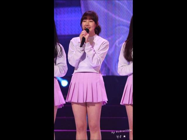 20150215 여자친구(GFRIEND) KBS라디오 '콩으로 만나는 세상' 공개방송 세로 직캠- 12.자기소44