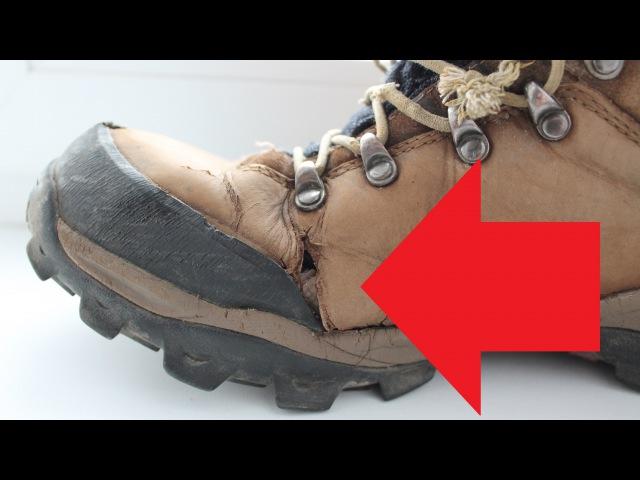 Трекинговые ботинки GRAVEL TREK (разочарование)