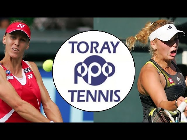 【HD】Wozniacki vs Dementieva Highlights (Tokyo 2010)