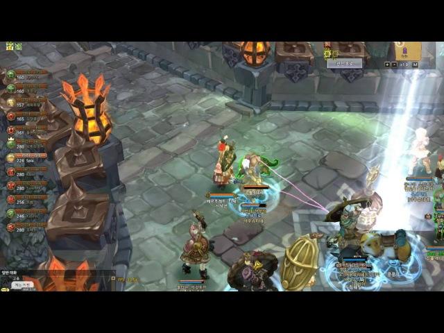 [TOS] Guild Battle 2016 06 02 1200 부활 VS 온새미로