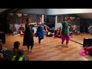 Медитируй и танцуй: день Индии в US / Танец, посвященный Шри Шиве