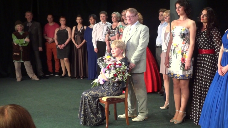 Поздравление Г.Чихачёва и Л.Яковлева с творческим юбилеем Людмилы Полянской 29 мая 2016 года.