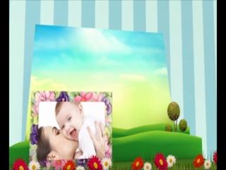Видеоклип из фотографий про самых маленьких!