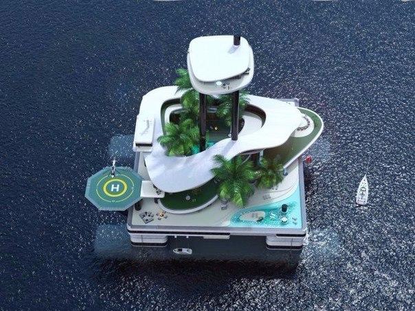 Яхты – вчерашний день. Теперь в моде у успешных трейдеров передвижные частные острова.
